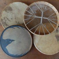 1/ Tambours chamaniques en stock